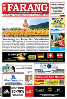 Magazin inkl. Kalender EMS in Thailand (TH)