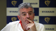 Der langjährige Ryanair-Chef Michael O'Leary. Foto: epa/Tomasz Gzell
