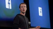 Facebook-Chef Mark Zuckerberg. Foto: epa/Peter Dasilva