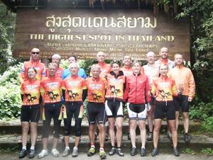 Die Tour zum Doi Inthanon ist ein besonderes Erlebnis. Gefahren wird mit Top-Rennrädern der Marke Giant.