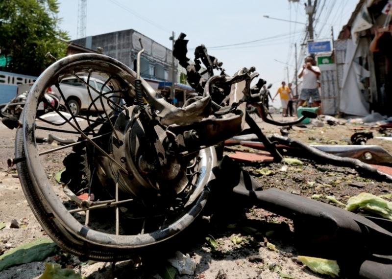 Narathiwat Thailand  city images : Sprengsätze verletzen 13 Menschen in Narathiwat, Thailand