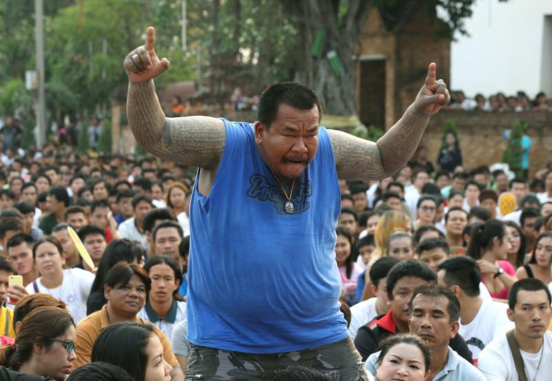 Nakhon Pathom Thailand  city photo : Ekstase durch Tätowierungen, Nakhon Pathom, Thailand